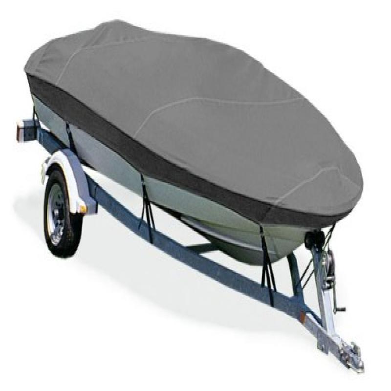 Taylor Made Products Trailerite Semi-Custom Boat Cover for V-Hull Fishing Boats with Outboard Motor without Hood... by TAYL - TAYLORMADE