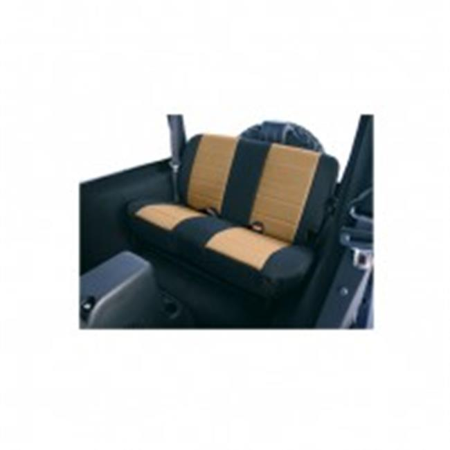 Fabric Rear Seat Covers, 97-02 Jeep Wrangler TJ