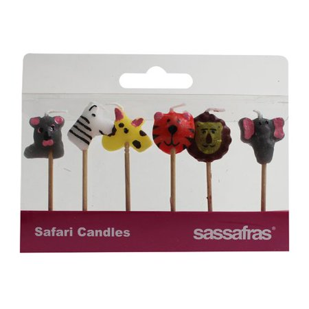 Sassafras Safari Party Candle (Set of 2)