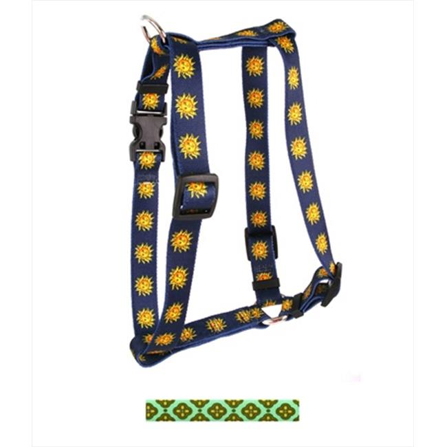 Yellow Dog Design H-CLB104XL Cleo Blue Roman Harness - Extra Large