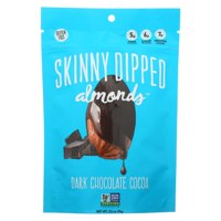 Skinny Dipped Almonds - Dark Chocolate Cocoa - Case of 10 - 3.5 OZ