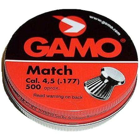 GAMO FLAT NOSE PELLETS MATCH .177