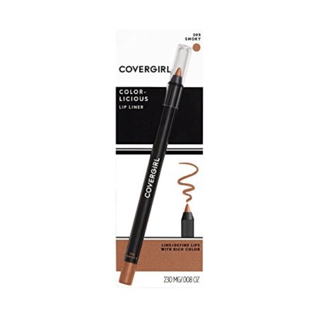 covergirl colorlicious lip perfection lip liner smoky 205, .04 oz (packaging may vary) Cover Girl Lip Liner