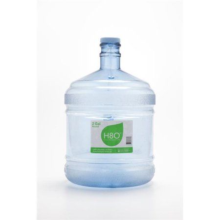H8O PC28GS-48 2 gal Water Bottle with Handle & 48 mm Cap - Polycarbonate Plastic - image 1 of 1