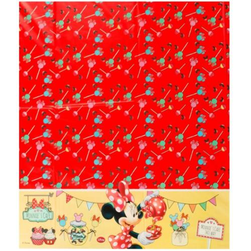 Minnie Cafe Plastic Tablecover - Party Supplies