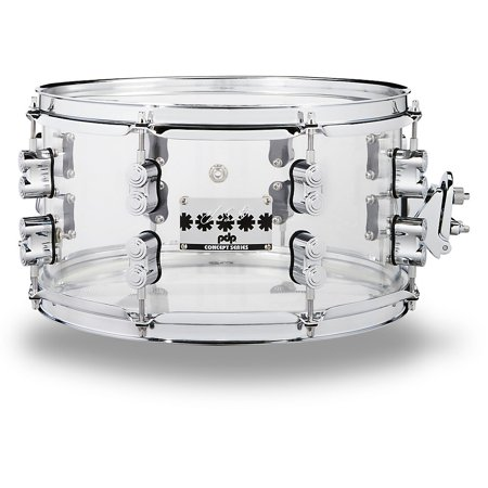PDP Chad Smith Signature Series Clear Acrylic 7