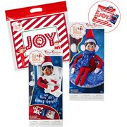 The Elf on the Shelf Claus Couture All New 2018 Collection Slumber Party Accessories Set: Tubular Snow Set, Sleeping Bag with Mini Felt Bear for Elves and Exclusive Joy Travel Bag