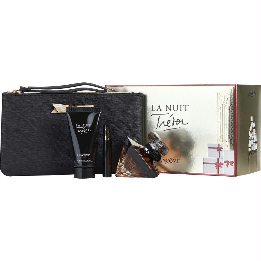 La Nuit Tresor 4 Pc. Ift Set ( Eau De Parfum Spray 1.7 Oz...