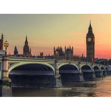 Westminster Bridge And Big Ben London Uk Poster Print By  Assaf Frank