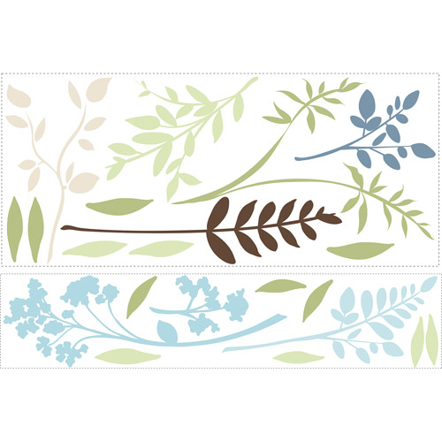 RoomMates Multi Branches Wall Decals