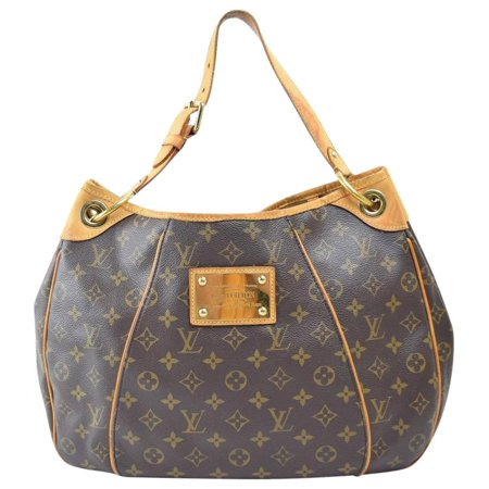 Galliera Monogram Pm Hobo 867678 Brown Coated Canvas Shoulder Bag ()