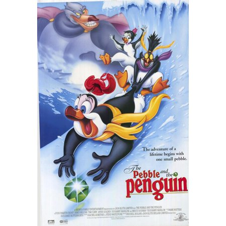The Pebble and the Penguin POSTER Movie Mini - Penguins Pebble Mate