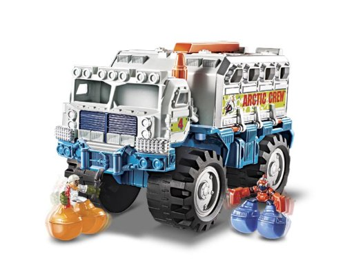 Big Boots Arctic Transporter Vehicle, It's a big adventure with the Big Boots Arctic Transporter By Matchbox by
