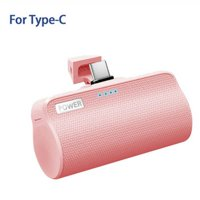 Mini Type C USB 3000mAh Power Bank Fast Charge Powerbank Charger For Xiaomi Huawei USB-C Pocket Portable Wireless Battery
