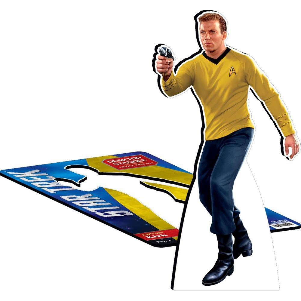 Star Trek Kirk Desktop Standee