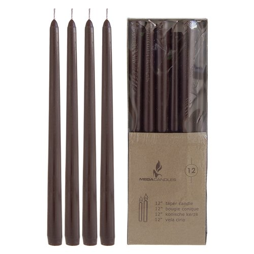 Synergy Retail Group Mega Taper Candle (Set of 12)