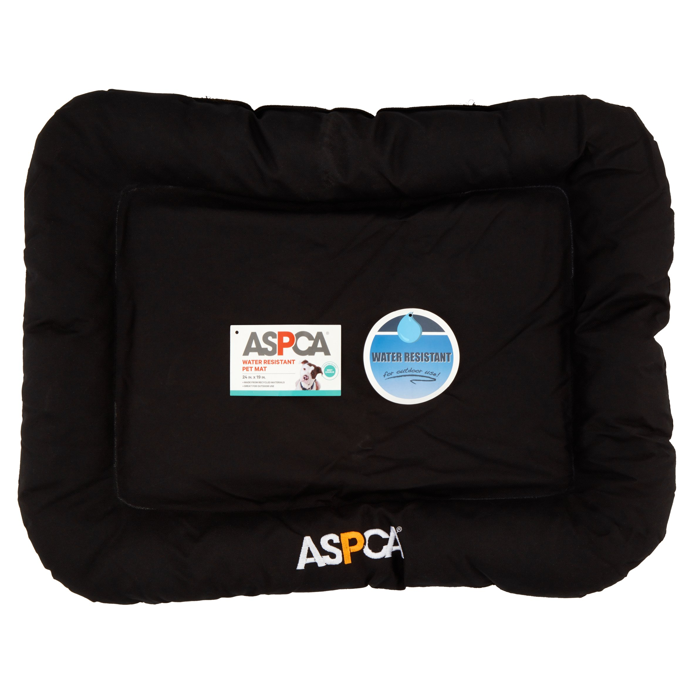 ASPCA Black Water Resistant Pet Mat