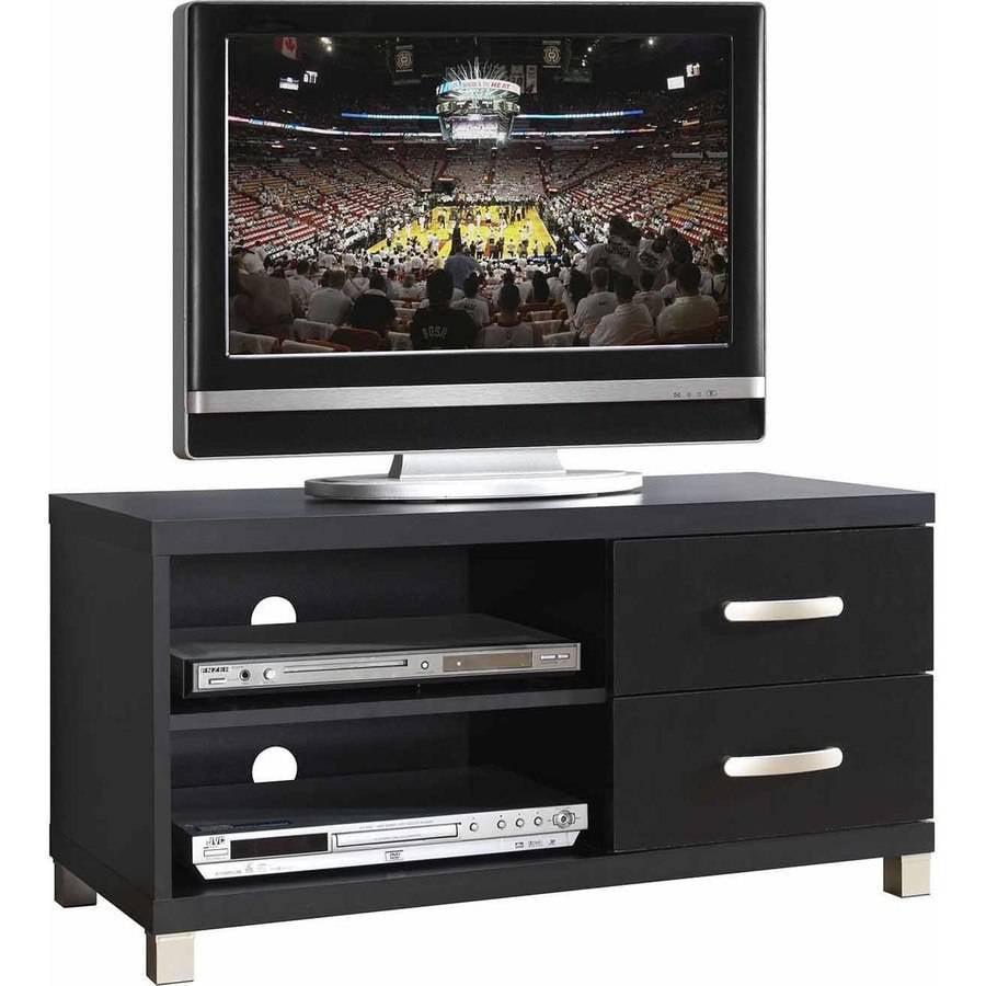 Techni Mobili 2 Drawer Tv Cabinet Black Onsales19 Com