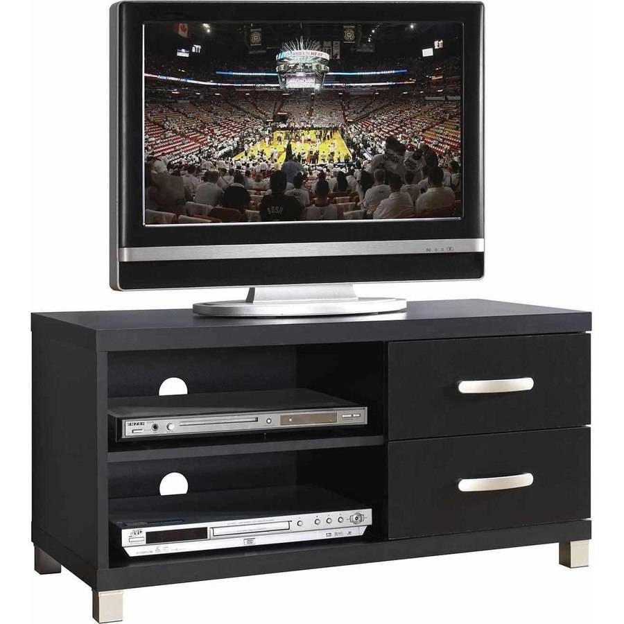 Techni Mobili 2 Drawer TV Cabinet, Black