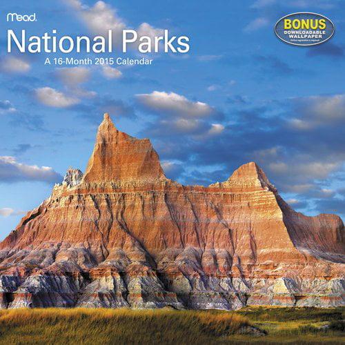 2015 Wall Calendar, National Parks