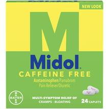 Pain Relievers: Midole Caffeine Free