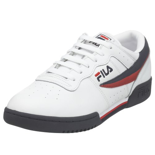 Fila Men's Original Vintage Fitness Shoe,White Navy Red,9 M by Fila