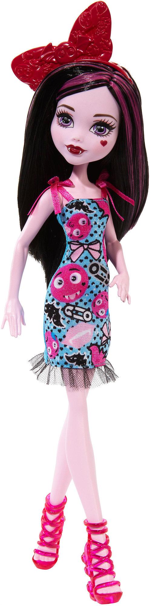 Monster High Emoji Draculaura Doll by Mattel