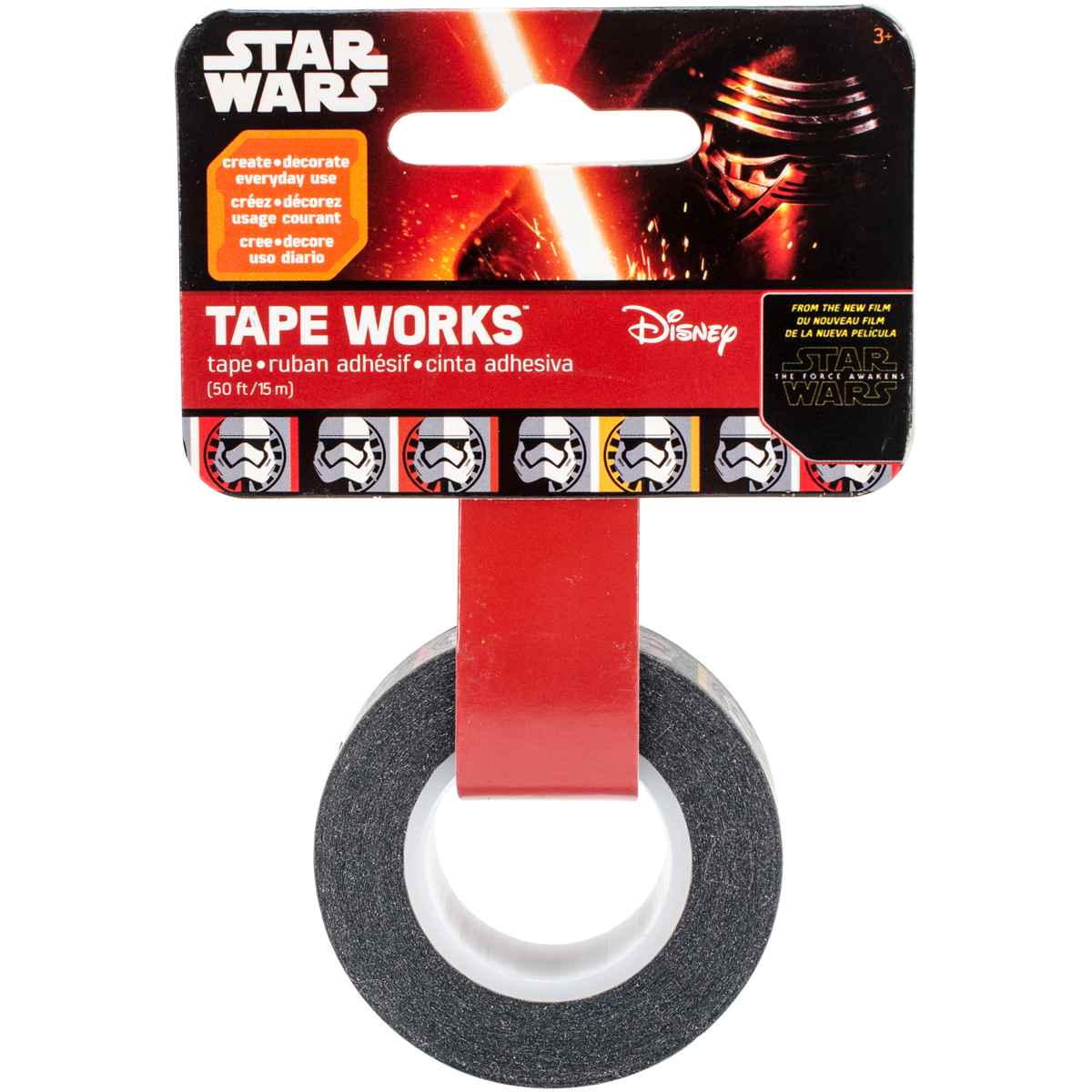 Tape Works Tape .5 Inch X 50-Star Wars 7