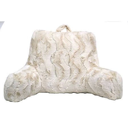 Jardine Backrest - Better Homes & Gardens Swirls Faux Fur Backrest, Ivory