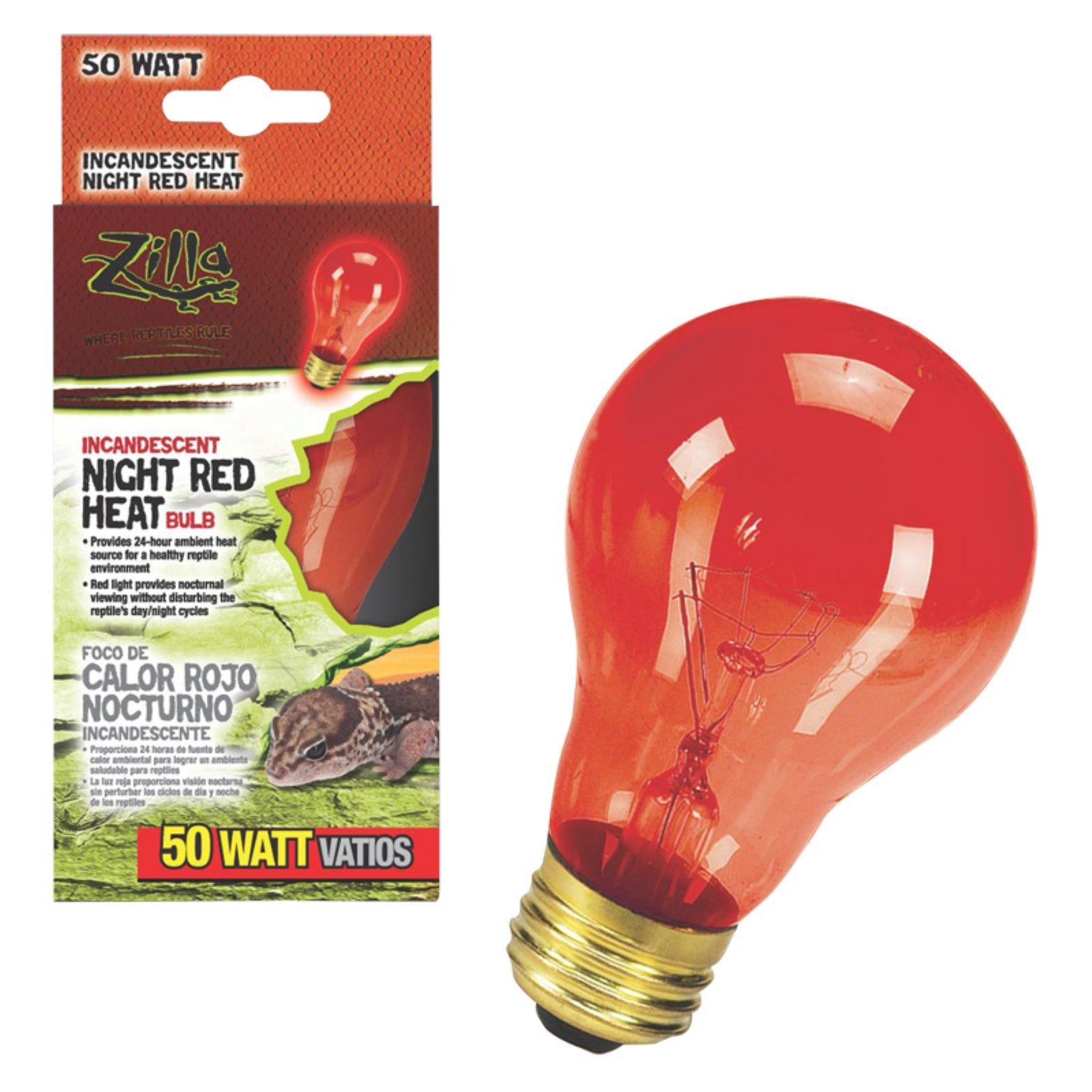 Zilla Night Red Heat Incandescent Bulb