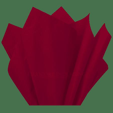 Burgundy Tissue Paper, 15
