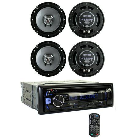 Kenwood Kdc Bt362u Bluetooth Smartphone Player Car Stereo 2 6 5