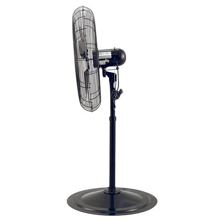 Air King Pedestal Fan (Air King 30 Inch 3 Speed Adjustable Height Industrial Pedestal Stand Fan, Black )