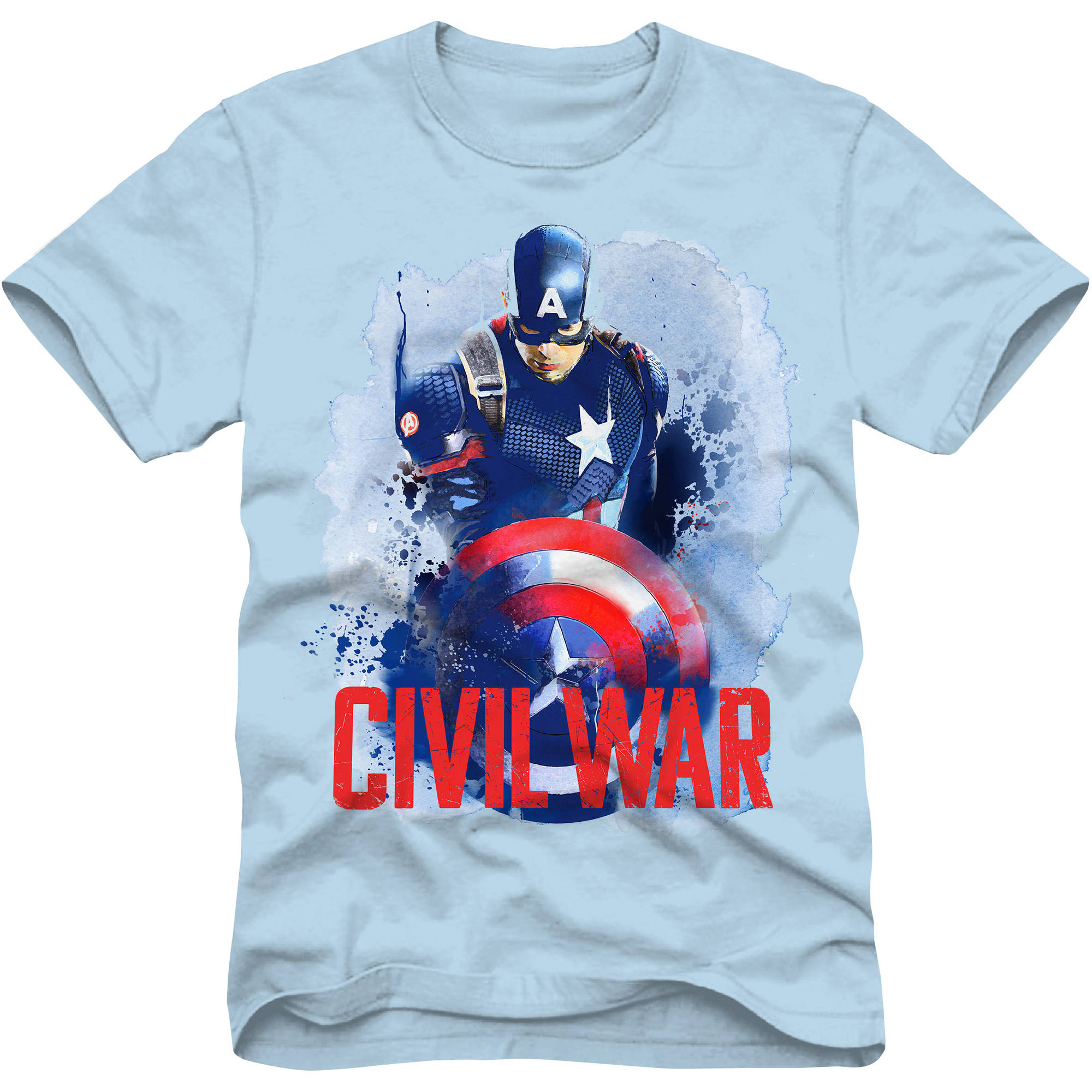 Marvel Civil War Boys Graphic Tee