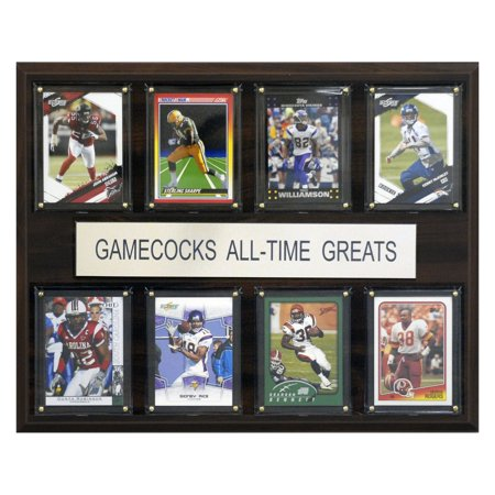 South Carolina Gamecocks Art (C&I Collectables NCAA Football 12x15 South Carolina Gamecocks All-Time Greats)