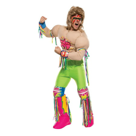 Halloween WWE Grand Heritage Ultimate Warrior Adult - Halloween Ultimate Costumes