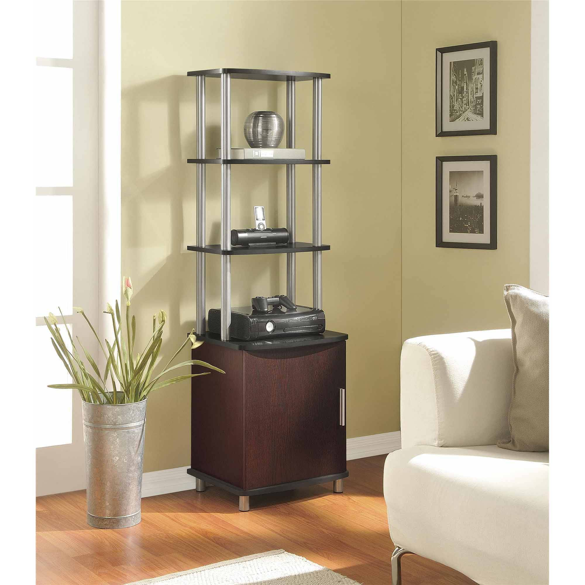 Altra Carson Media Storage Bookcase, Multiple Finishes