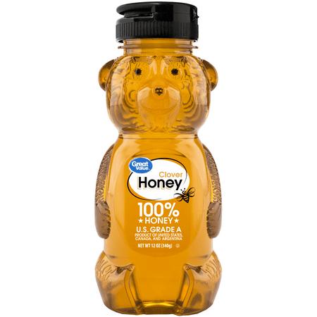 Great Value Clover Honey, 12 oz
