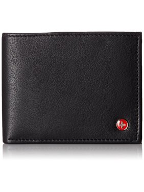 88a8405e2199 Product Image Alpine Swiss Mens Wallet Real Leather Bifold Trifold Hybrid  Foldout ID Card Case