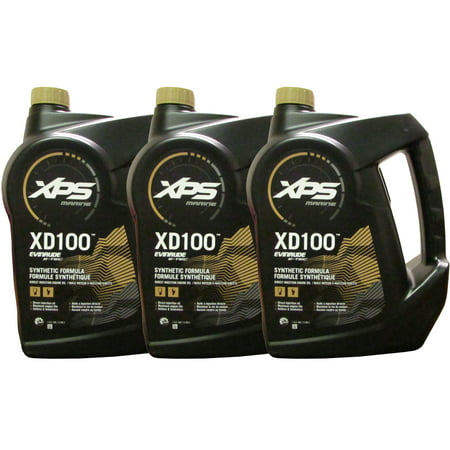 Johnson Evinrude/OMC XPS Marine XD100 Oil Gallon 3 Pack 779711, 0779711, 0764357