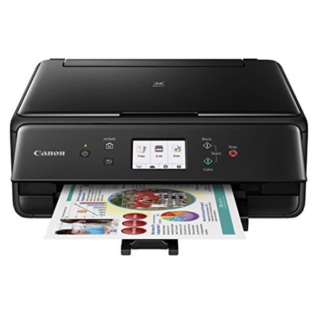 Canon Compact TS6020 Wireless Home Inkjet All-in-One Printer, Copier & Scanner, Mobile Printing, Auto Duplex and Business Card Printing, Black - image 1 de 1