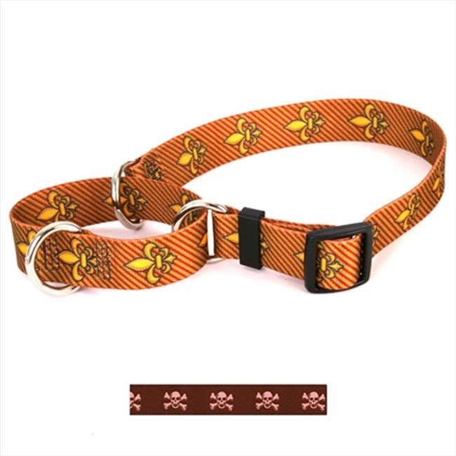 Yellow Dog Design Skulls Martingale Collar