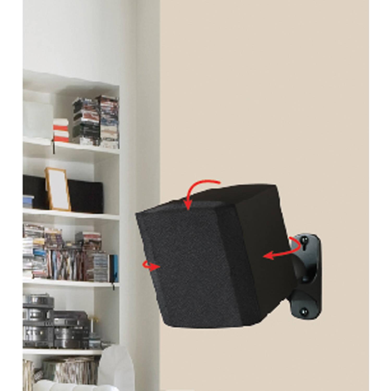 AVF EAK50B-A Surround Sound Speaker Wall Mounts, Set of 2 ...