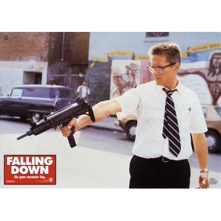 Down Movie Poster (Falling Down (1993) 11x14 Movie)