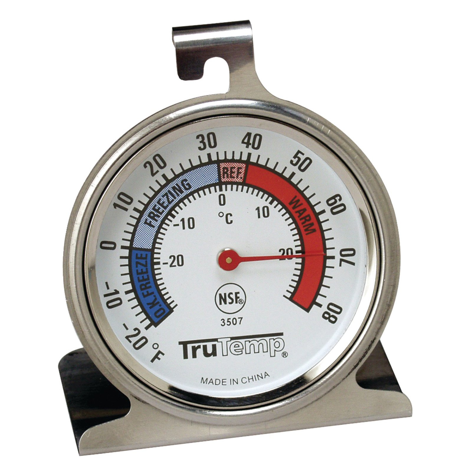 Taylor 3507 Freezer-Refrigerator Thermometer