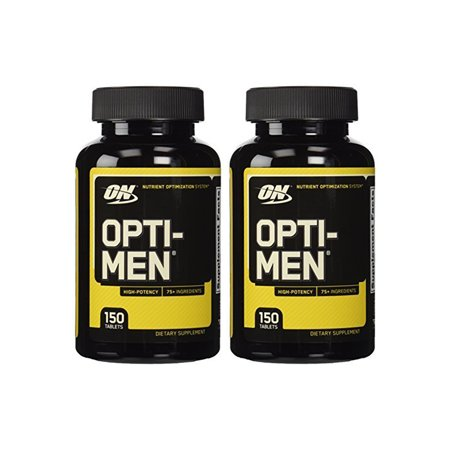 Daily Nutrition - Optimum Nutrition Opti-Men Daily 4-Blend Multivitamins Optimen 150 Tablets 2 Pack
