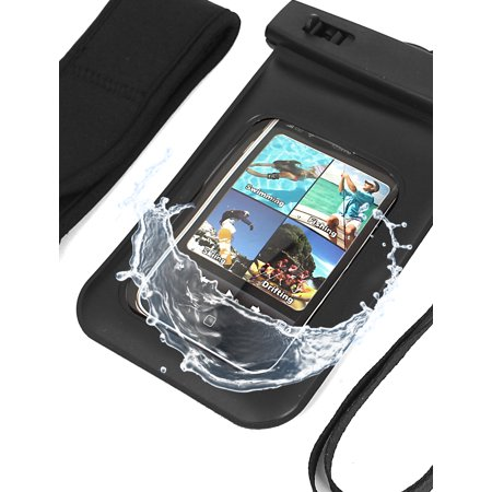 Waterproof Fishing Pouch Dry Bag Case for iPhone 4G w Armband - image 3 de 4