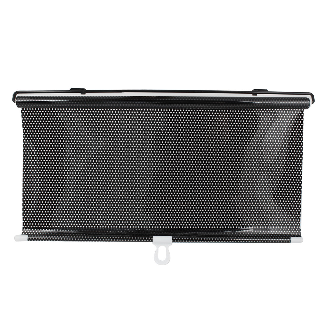 "49"" x 16.5"" Retractable Car Side Window Sun Shade Roller Protector Black"
