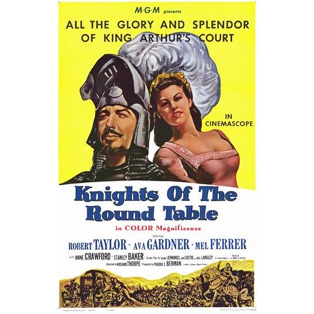 Posterazzi MOV254383 Knights of the Round Table Movie Poster - 11 x 17 in. - image 1 of 1