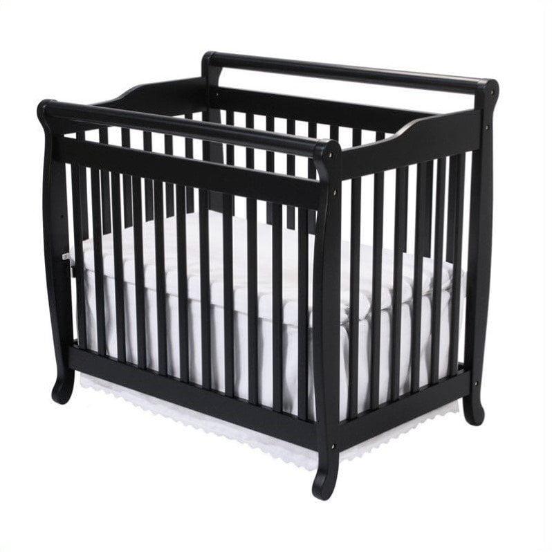 Da Vinci Systems Emily Mini 2-in-1 Convertible Crib with ...